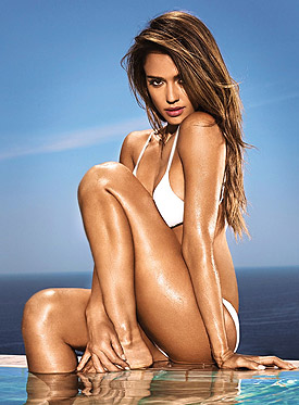 Jessica Alba Entertainment Weekly bikini photo