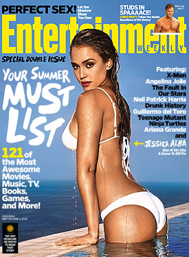 Jessica Alba Entertainment Weekly cover