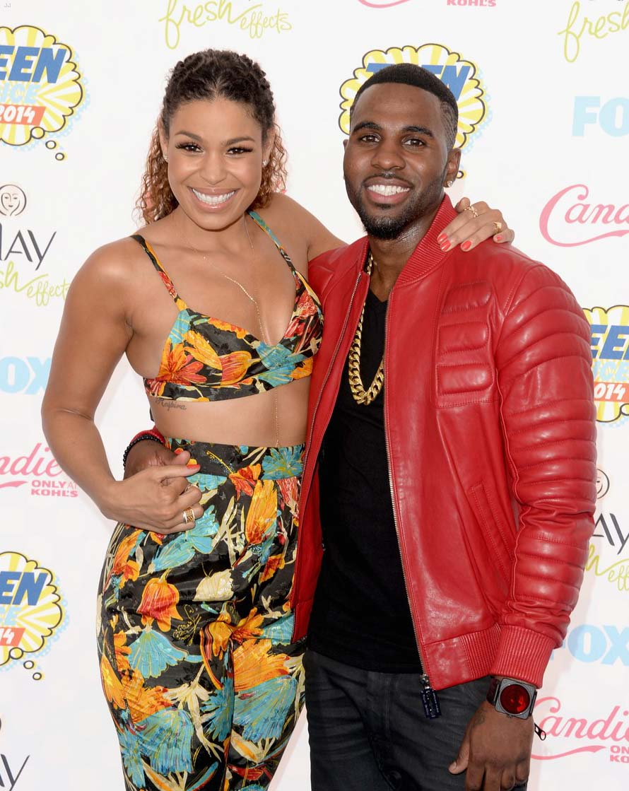 Jordin Sparks and Jason Derulo 2014 Teen Choice Awards
