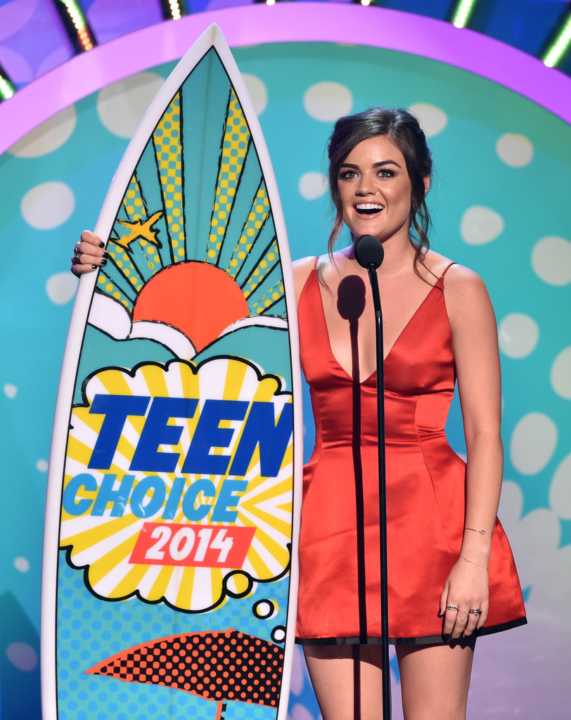 Lucy Hale 2014 Teen Choice Awards