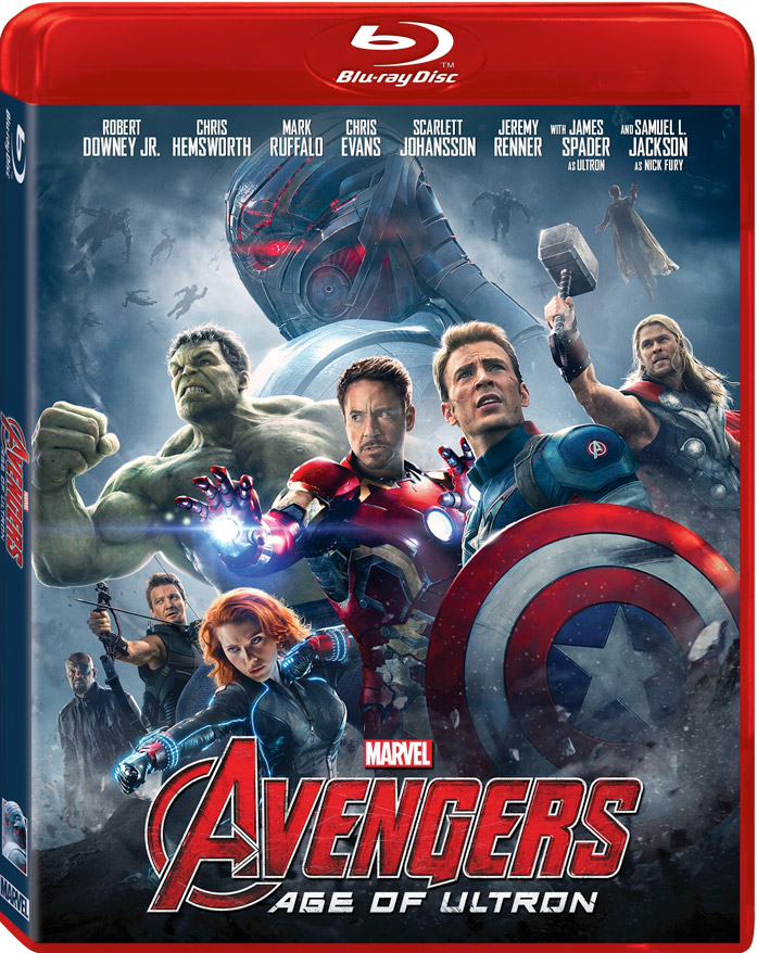 Avengers: Age of Ultron Blu-ray