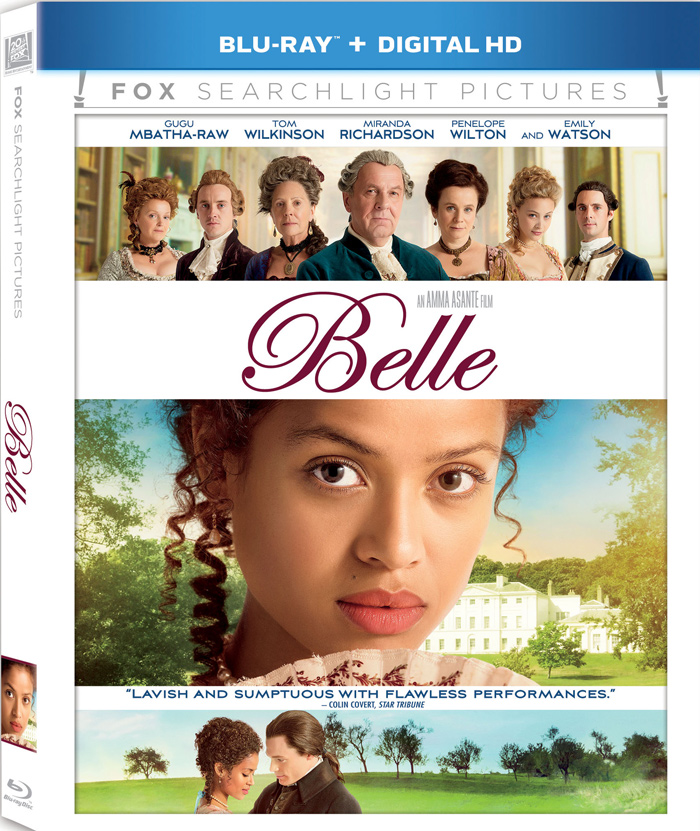 Belle Blu-ray cover art