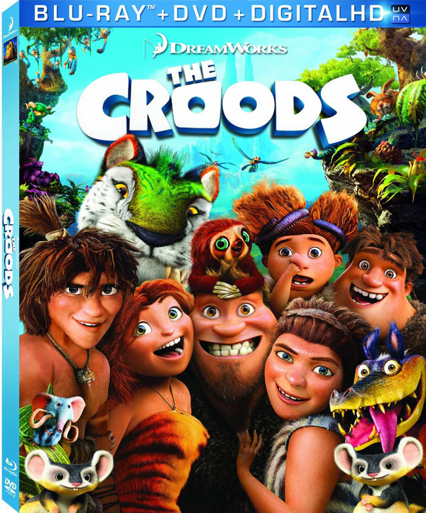 The Croods Blu-ray