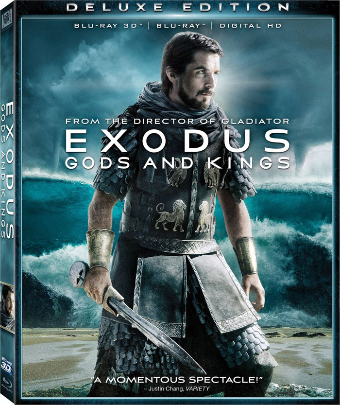 Exodus: Gods and Kings Blu-ray 3D