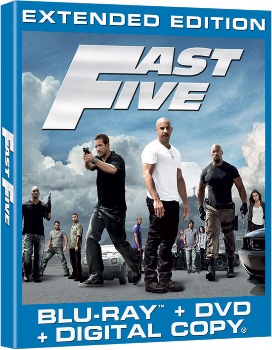 Fast Five (2011) Vin Diesel - Movie Trailer, DVD, Blu-ray ...
