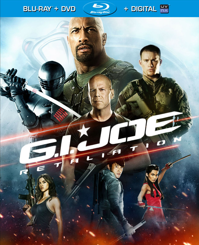 G.I. Joe: Retaliation Blu-ray cover artwork