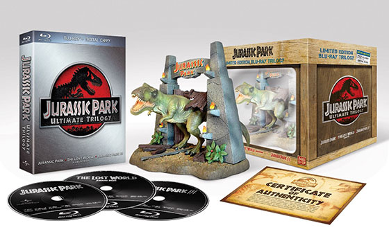 Jurassic Park Ultimate Trilogy Blu-ray Gift Set