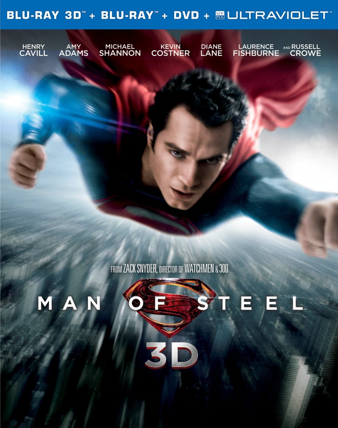 Man of Steel Blu-ray 3D