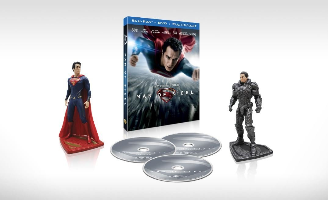 Man of Steel Collectible Figurines Gift Set