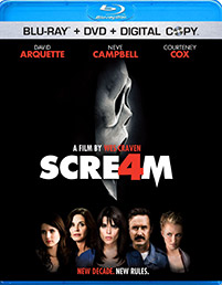 Scream 4 dvd cover art