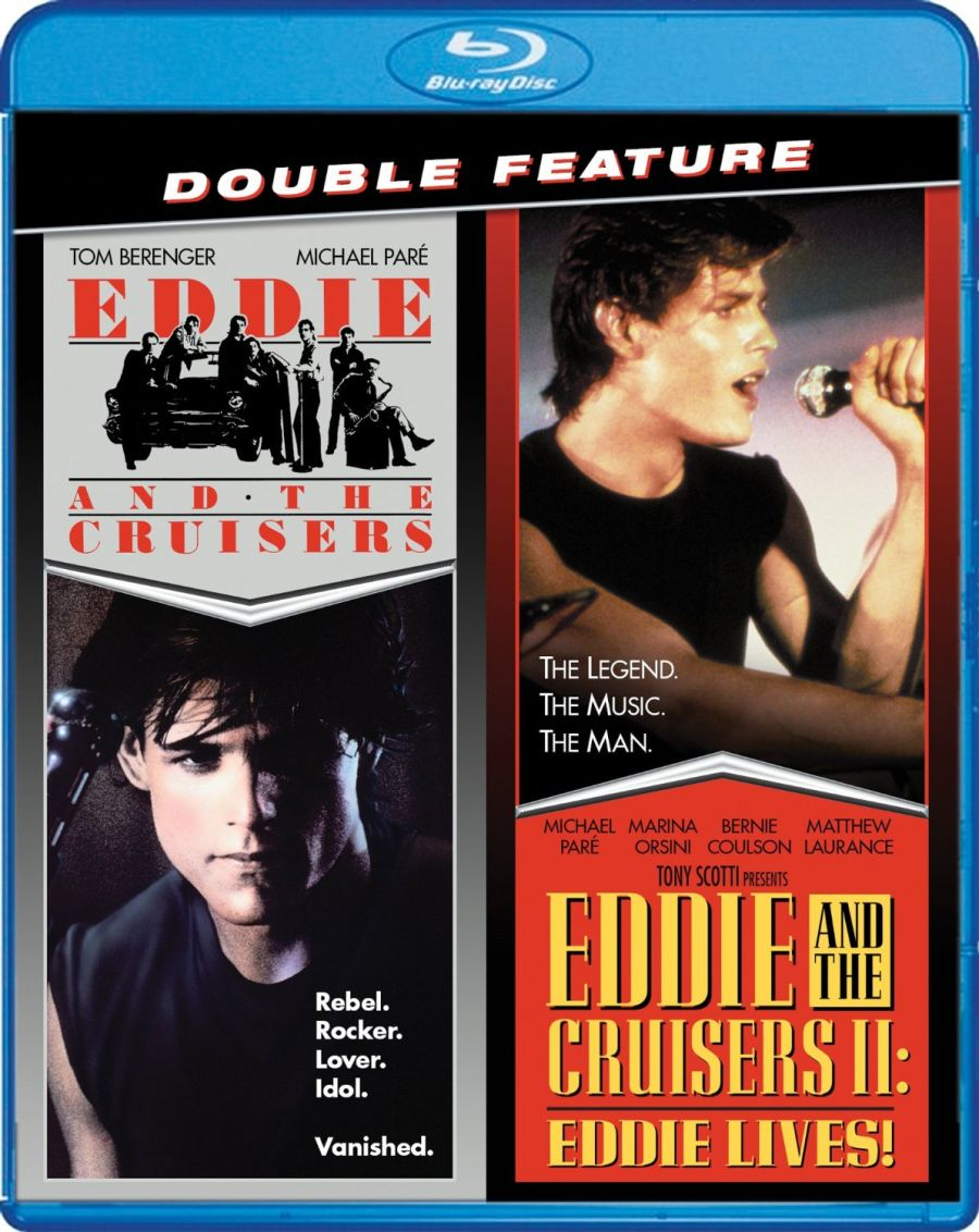 Eddie And The Cruisers Double Feature Blu-ray