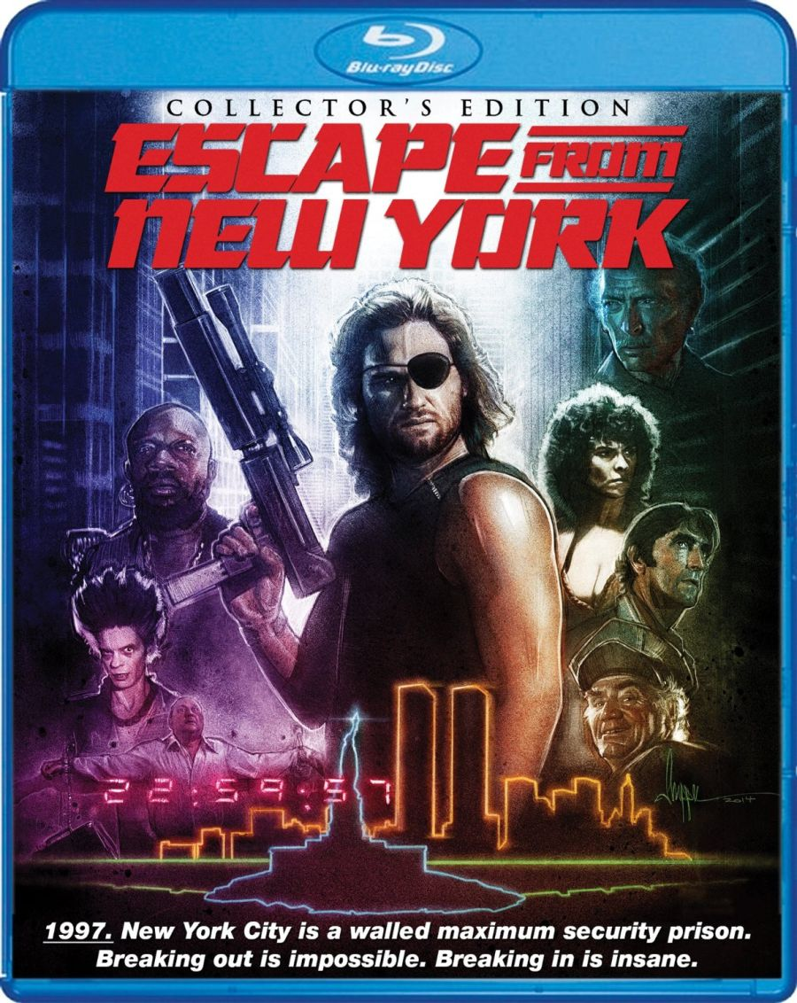 Escape From New York Collector's Edition Blu-ray