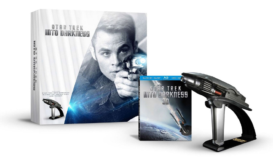 Star Trek Into Darkness Blu-ray 3D Combo Pack Limited Edition Gift Set