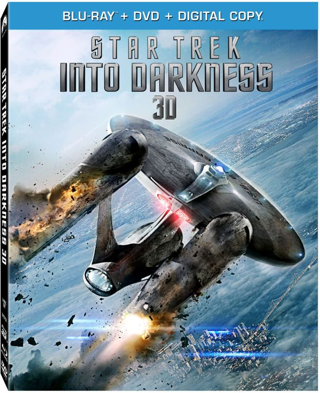 Star Trek Into Darkness Blu-ray 3D Combo Pack