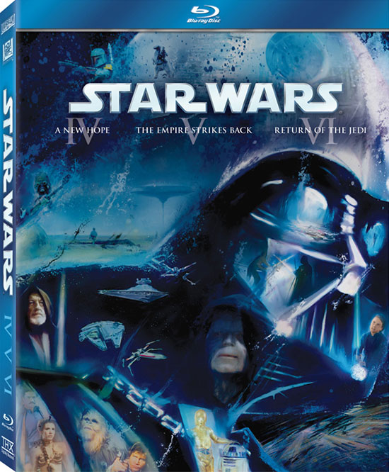 Star Wars: Episodes IV-VI on Blu-ray cover