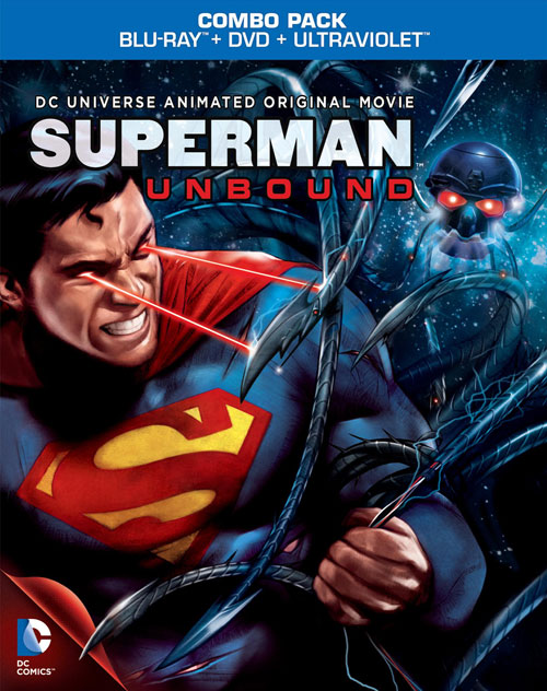 Superman: Unbound Blu-ray
