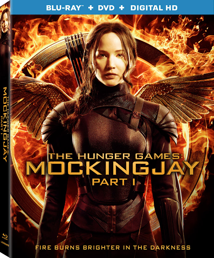 The Hunger Games: Mockingjay – Part 1 Blu-ray