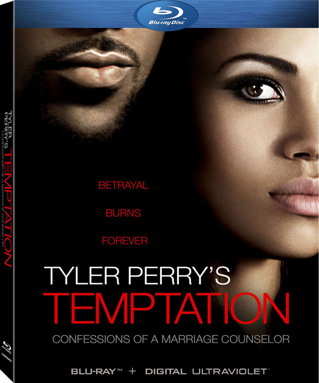 Tyler Perry's Temptation Blu-ray cover artwork