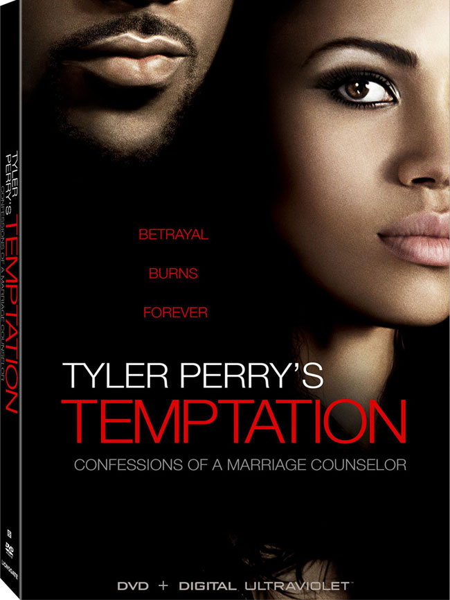 Tyler Perry's Temptation DVD cover artwork