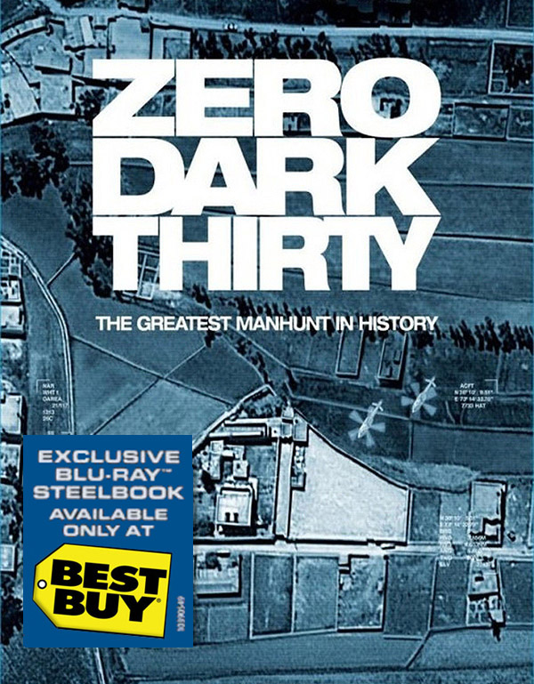Zero Dark Thirty Blu-ray Steelbook