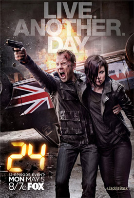 24: Live Another Day TV poster
