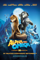 Alpha and Omega 3D movie poster