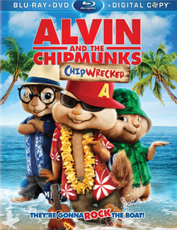 Alvin and the Chipmunks 3 Chipwrecked movie poster
