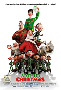 Arthur Christmas movie poster