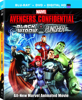 Avengers Confidential: Black Widow & Punisher Blu-ray