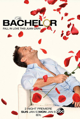 The Bachelor TV poster