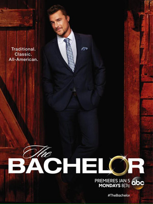 The Bachelor TV poster