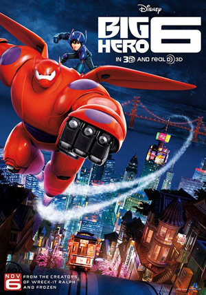 Big Hero 6 movie poster