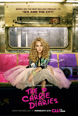 The Carrie Diaries TV poster