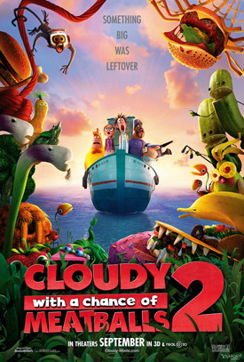 Cloudy 2 movie poster