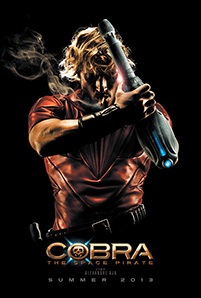 Cobra: The Space Pirate movie poster