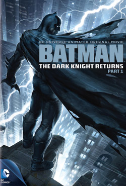 The Dark Knight Returns Part 1 movie poster