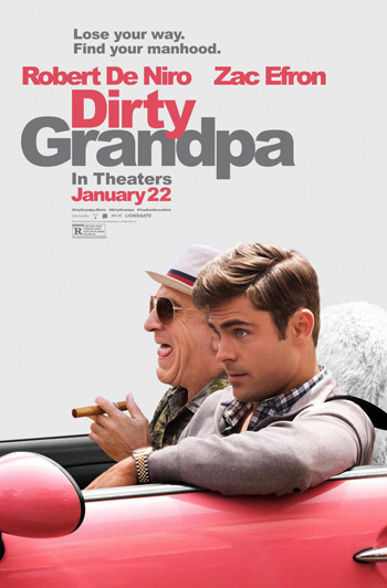 Dirty Grandpa movie poster