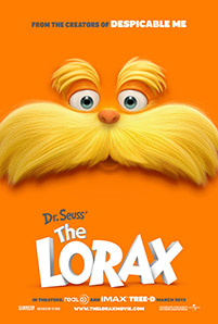 Dr. Seuss The Lorax movie poster