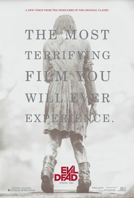 The Evil Dead remake movie poster