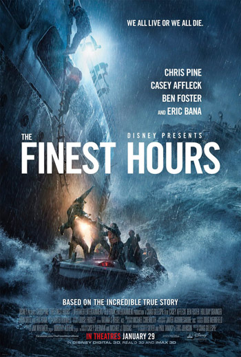 The Finest Hours movie poster