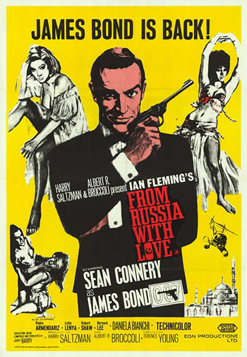 from russia with love cast