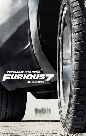 Fast and Furious 7 movie poster