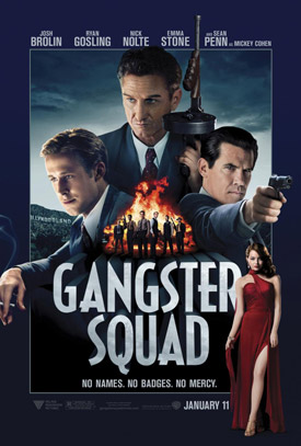 The Gangster Squad movie poster