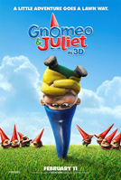 Gnomeo and Juliet movie poster