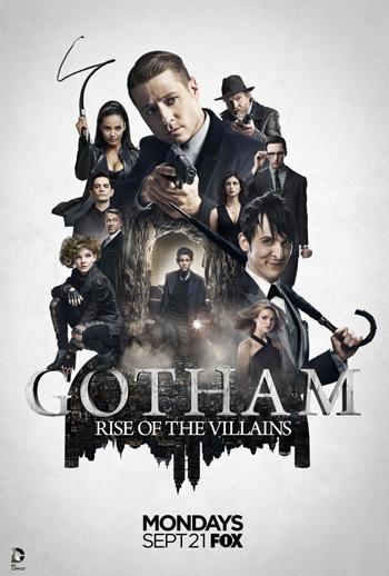 Gotham TV poster