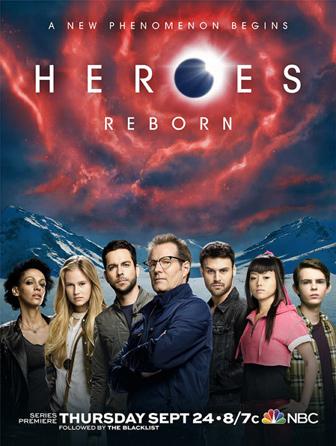 Heroes Reborn TV poster