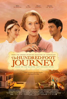 The Hundred-Foot Journey movie poster