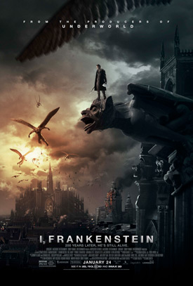 I Frankenstein movie poster