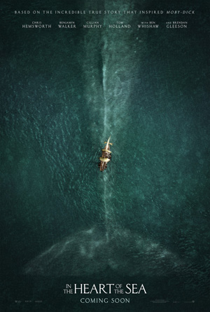 Heart of the Sea movie poster