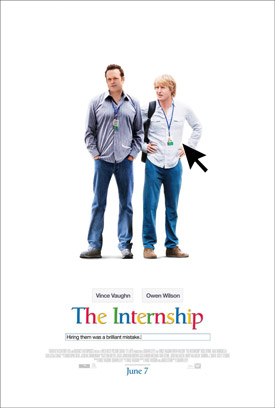 The Internship movie poster